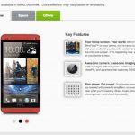 HTC One – Une version rouge fait une brève apparition