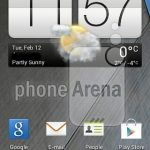 HTC G2 – Un screenshot de Sense 5 version light