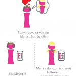 LiinkMe – Une application pour se déclarer sans se dévoiler