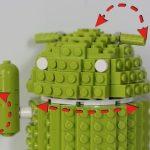 Un LEGO Bugdroid à monter vous-même, ça vous dit ?
