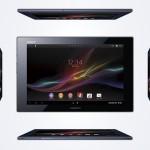Sony présente la Xperia Tablet Z, la tablette la plus fine et légère au monde ! #MWC2013
