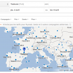 Google flights – Le comparateur de vols débarque en France