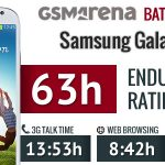 Samsung Galaxy S4 – Tests d'autonomie