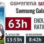 Samsung Galaxy S4 – Tests d'autonomie