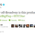 HTC One vs Samsung Galaxy S4 – Ça clashe aussi sur Twitter !