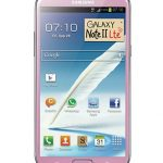 Samsung Galaxy Note II LTE en rose