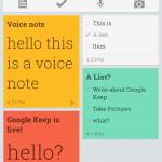 Google Keep officialisé et disponible