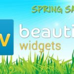 Beautiful Widgets – L'application à -50% pour fêter le printemps