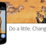One Today – L'application caritative par Google