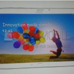 Fuite de la tablette Samsung Roma