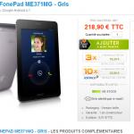 Le Asus Fonepad en vente chez Materiel.net