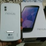 Nexus 4 blanc – Disponible à la vente… en Inde.