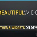 Beautiful Widgets – La version gratuite est en ligne