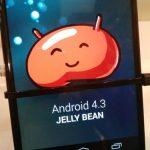 Images et vidéo d'android 4.3 sur un Nexus 4
