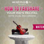 LG Optimus G Pro – Démonstration du Fabsharing