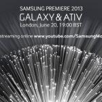 Samsung Premiere – L'événement pourra être suivi en direct