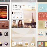 Huawei Ascend P6 – Des images de l'UI et des spécifications