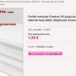 La nouvelle Freebox Crystal à 1,99 euros par mois sur Vente-privee.com