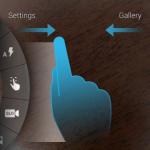 Moto X – L'interface de l'appareil photo dévoilée