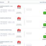Le Huawei Ascend P6 en précommande pour 399 euros