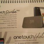Le Alcatel One Touch Scribe Pro a fuité