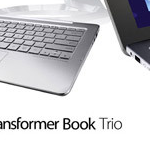 Transformer Book Trio – Tablettes Android et dock clavier Windows 8 #IFA2013