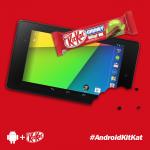 Android 4.4 – KitKat confirmé pour octobre