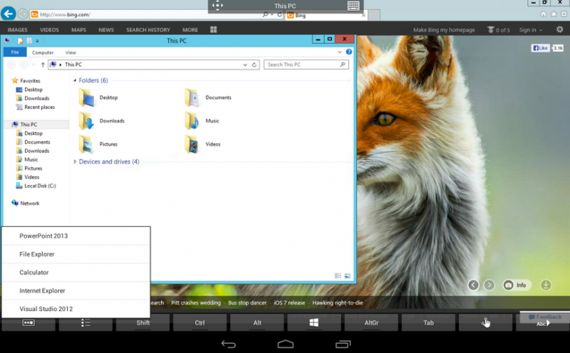 Microsoft Remote Desktop   Applications Android sur GooglePlay