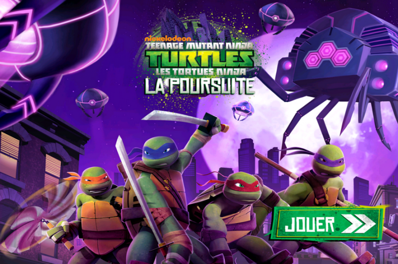 TMNT   la poursuite
