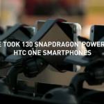 Qualcomm ou comment faire du bullet-time avec 130 HTC One