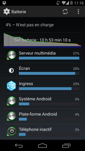 Nexus 5 autonomie