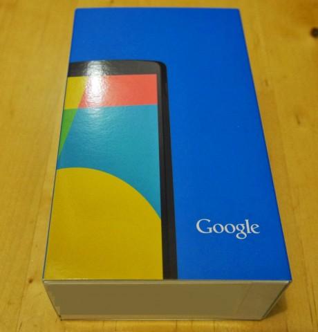 Nexus 5 boîte