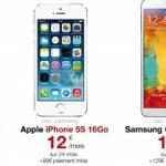 Free Mobile – Vous pourrez louer un smartphone haut de gamme