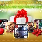 Gameloft fête noël – Des jeux Android à gagner sur Facebook et Twitter !