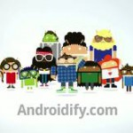 Androidify – Une mise à jour pour ressortir son bugdroid à noël