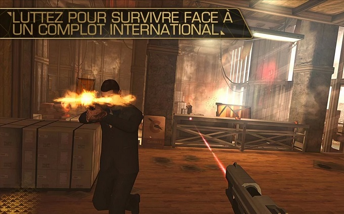 Deus Ex  The Fall   Applications Android sur Google Play