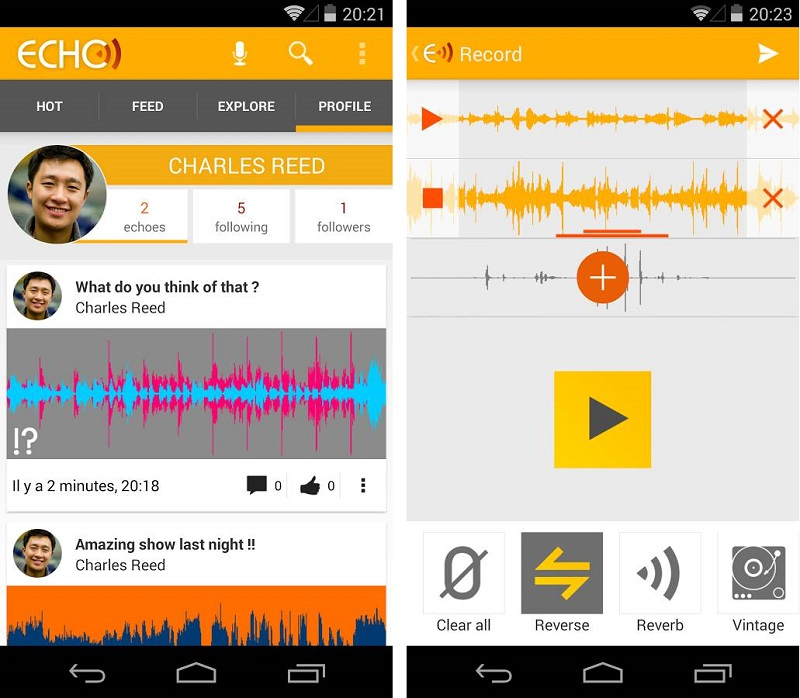 Echo   Applications Android