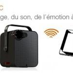 Le Bloc d'Orange  – Un projecteur audio vidéo portable connecté