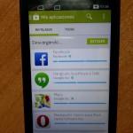 Le Play Store sur un Nokia X hacké