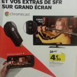 Chromecast – Le 25 mars prochain à 4,99 € chez SFR
