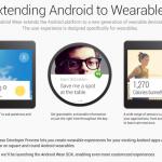 Android Wear – Les fonctionnalités Android pour objets connectés