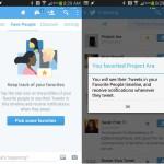 """Twitter – Une timeline """"favoris"""" sur le version beta"""
