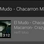 Youtube Mix  est disponible sur Android