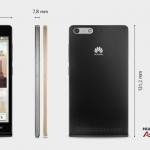 Huawei Ascend P7 Mini – Les infos officielles
