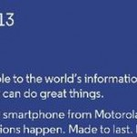 "Motorola annoncera un terminal ""priced for all"" le 13 mai à Londres"