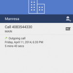Google tweet accidentellement (ou pas) une capture de son nouveau dialer