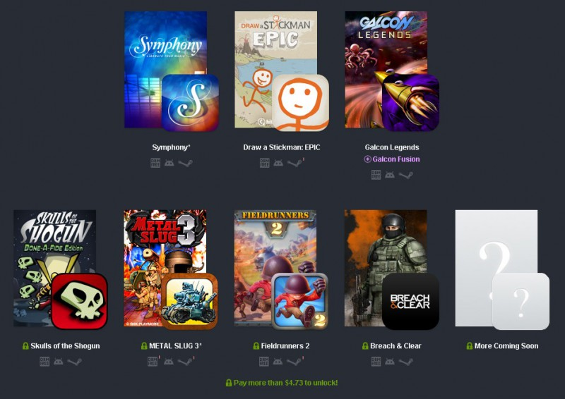 Humble Bundle  PC and Android 10  pay what you want and help charity