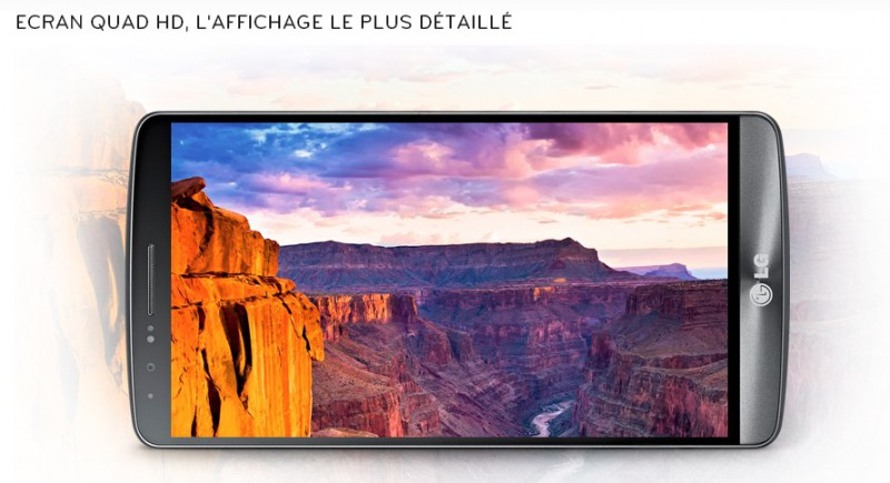 LG G3  Le téléphone portable LG G3(6)