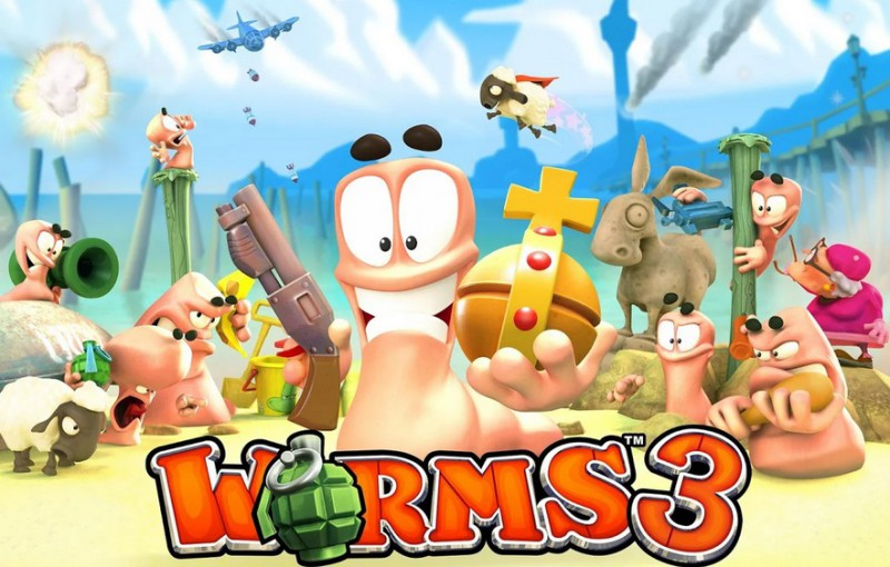 Worms 3   Applications Android sur GooglePlay