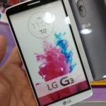 LG G3 – Des photos du modèle factice